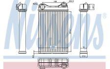 NISSENS Radiador de calefacción FIAT PUNTO LANCIA YPSILON ZASTAVA 10 71445