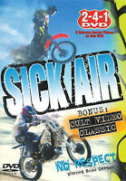 Sick Air ~ Motorcycle Stunts ~ DVD ~ FREE Shipping Within USA