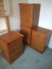 Filing Cabinet with 2 Drawers. Wood effect. Buy individually (Two left now)