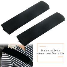 2Pcs Car Safety Seat Belt Carbon Fiber  Cover Shoulder Pads Cushion Luxury Kit