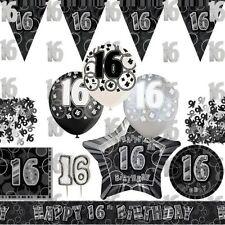 Articles de fête argentés anniversaire-adulte pour la maison