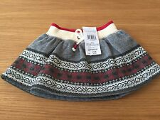 New with tags baby girls Genuine Ralph Lauren fleece skirt size 9 months
