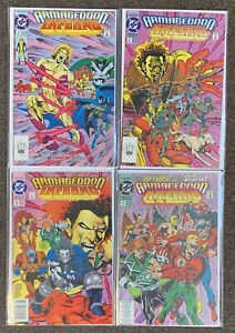 Armageddon Inferno #1,2,3,4 1992 DC Comics Complete Set Lot
