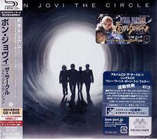 Bon Jovi: The Circle Deluxe Edition [SHM-CD] [w/ DVD, Ltd] (Japan) Cd Sigillato