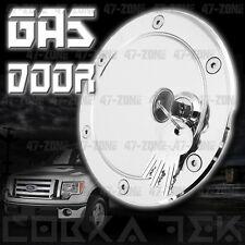 Chrome Fuel Gas door w/ lock 04-08 Ford F150 Super cab Super Crew XL XLT