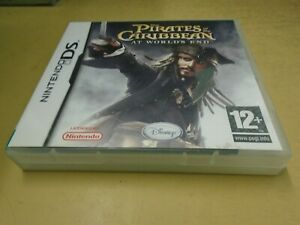 Disney's Pirates of the Caribbean: At World's End (DS) With Manual