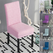 Spandex Dining Room Chair Cover Wedding Banquet  Party Decor Seat Cover Stretch