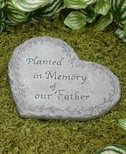 Planted in Memory of Our Father Memorial Stone