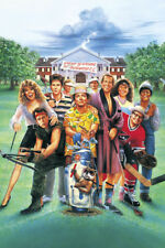 Caddyshack Bill Murray Classic With Hose Looking At Gopher In Hole Large Poster