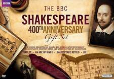 THE BBC SHAKESPEARE 400TH ANNIVERSARY gift set(DVD, 2016, 9 DISC SET) MATHEW BAY