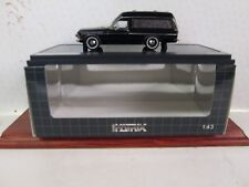 Opel Admiral B Hearse in Black by Matrix 1/43 scale Limited Edition