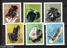 DDR nº 1468-73 ** montaña Academia libre montaña colección de minerales