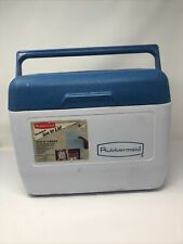 Vintage Rubbermaid Tote 12 Cooler Only Refreeze Bottle Not Included Rarely Used