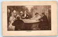 Playing Cards Syracuse NY 1910 Vintage Postcard D73