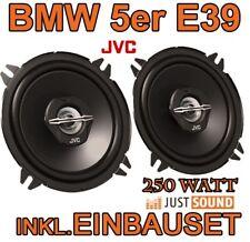 250 WATT  BMW 5er E39 - Lautsprecher - JVC  130mm BOXEN EINBAUSET PAAR TÜR NEU