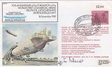 FF8a Zeppelin Signed Friedrich Korner Knight's Cross