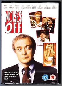 NOISES OFF DVD (1992) Michael Caine  Region 4 New & Sealed
