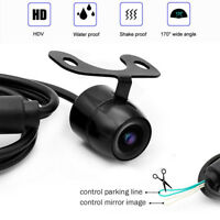 CCD Car Rearview Front Side View Backup Camera  with Mirror Image Convert Line