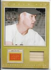 """Awesome 2012 Panini Golden Age Nellie Fox Museum """"Bat"""" Relic Card #39 ~ Hof 1997"""