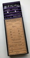 Vintage DIETZGEN Designo Separate Parts Box Drafting Instruments Made In Germany