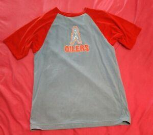 Houston Oilers Short Sleeve T Shirt Size Large