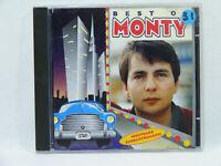 Best of MONTY Nouveaux enregistrements album CD Chanson variété Française
