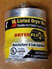Dryer Flex 4 inch x 4 foot length all aluminum dryer vent hose. Best value! photo
