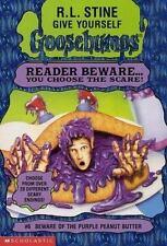 Beware of the Purple Peanut Butter (Give Yourself Goosebumps, No 6) Stine, R. L