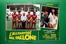 T10 FOTOBUSTA L'ALLENATORE NEL PALLONE LINO BANFI SERGIO MARTINO SAMMARCO 7