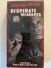 DESPERATE MEASURES VHS Michael Keaton & Andy Garcia Marcia Gay Harden Brian Cox