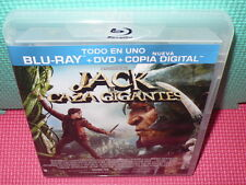 JACK EL CAZA GIGANTES - BLU-RAY + DVD