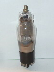 Western Electric 348A Small Punch Plate Tube, NOS Testing