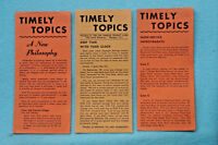 Los Angeles Transit  Lines - Timely Topics - Circa 1940s