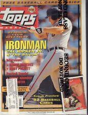 Topps Magazine Cal Ripken Jr. & Ramon Martinez Fall 1991  032818nonr