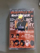 DJ Whoo Kid Set It off 4 Mixtape CASSETTE Tape 90s Hip Hop NYC