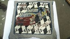 Dupont #24 Jeff Gordon Race Car Decorative Collectible Pillow.