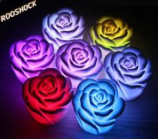 Decorative led rose lamp RGB multicolor for party events gadget idee per la casa