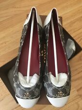 New Coach Chelsea Brown Flats 7