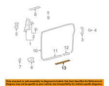 TOYOTA OEM 07-14 FJ Cruiser-Door Sill Plate Right 6791135010