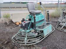 "2017 MultiQuip HHNG5 96"" Ride On Power Trowel Concrete Cement Finisher bidadoo"