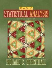 Sprinthall, Richard C. : Basic Statistical Analysis (8th Edition)