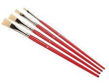 Humbrol 3, 5, 7 & 10 Acrylic & Enamel Natural Hair Stipple Brush Set AG4303
