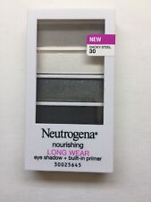 Neutrogena Nourishing Long Wear Eye Shadow #30-Smoky Steel. New Sealed