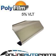 5% Silver Chrome Mirror Reflective Window Film 76cm x 6m Roll Glass Solar Tint