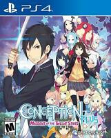 Conception Plus Maidens Of The Twelve Stars PlayStation 4 PS4 Brand New