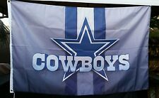 Dallas Cowboys flag, 3ft x 5ft flag, banner, Blue Star, Gray, Polyester