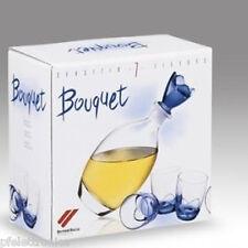 Servizio completo 7 pezzi per servire Liquore WHISKY bottiglia + 6 bicchierini