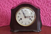 Vintage 'Smiths Enfield' 8-Day Bakelite Case Striking Mantel Clock