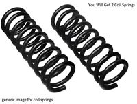 2x Fits Opel Vauxhall Astra H Rear Axle Left Right Coil Springs