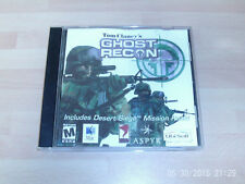 ghost recon includes desert siege expansion & call of duty 4   MAC RELEASE